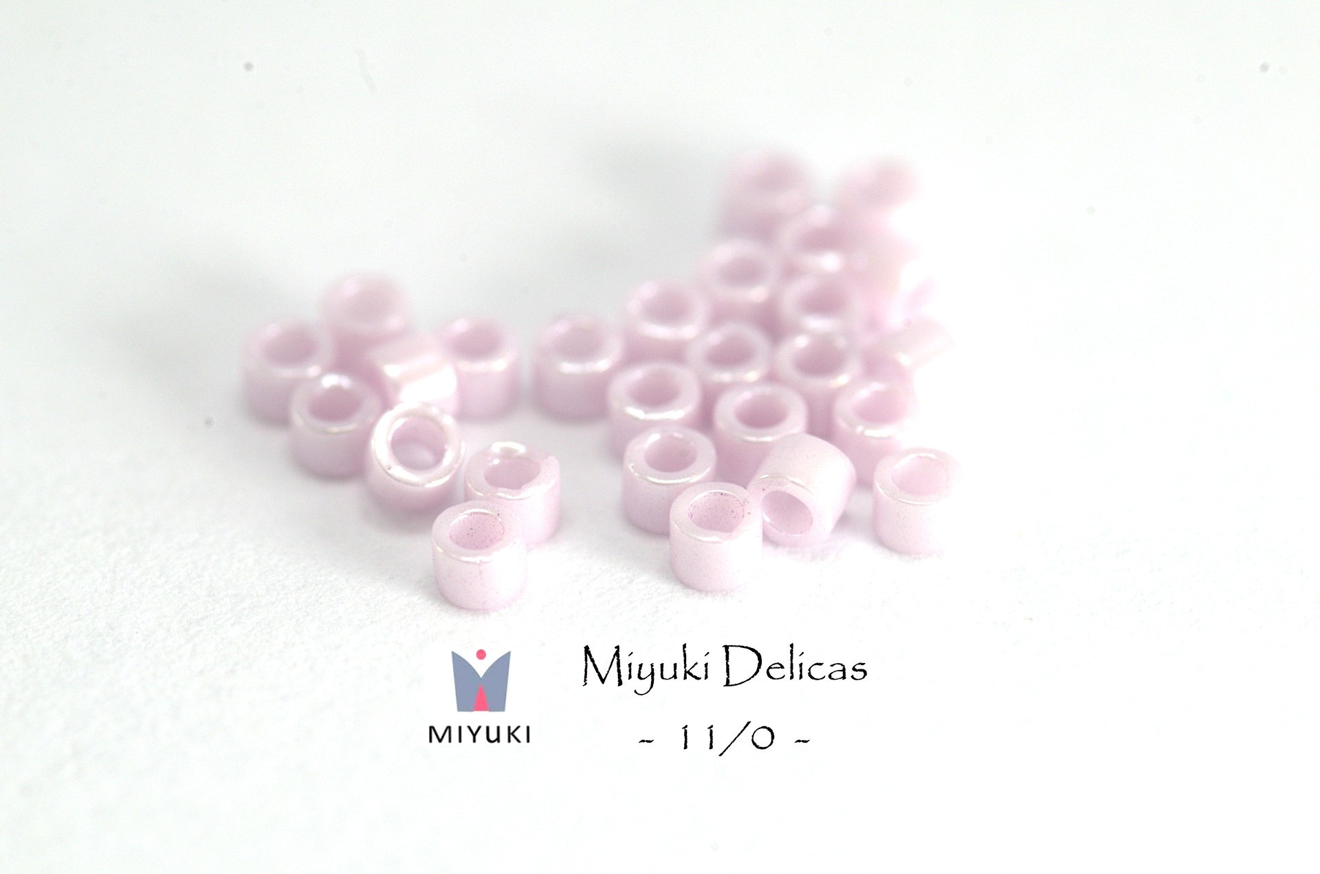 5 Grammes - Perles Miyuki Delicas 11/0 - Couleur Rose Mauve très ...