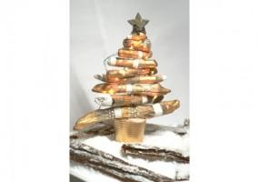 DIY - Kit pour la création d\'un Sapin de Noël en bois Flotté pour un ...