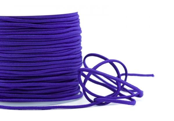 5 Mètres de Fil Cordon Elastique - Diamètre 2 mm - Couleur Violet