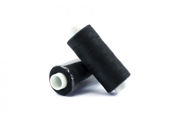 1 Bobine de Fil pour Couture - 100% Polyester - Couleur Noir