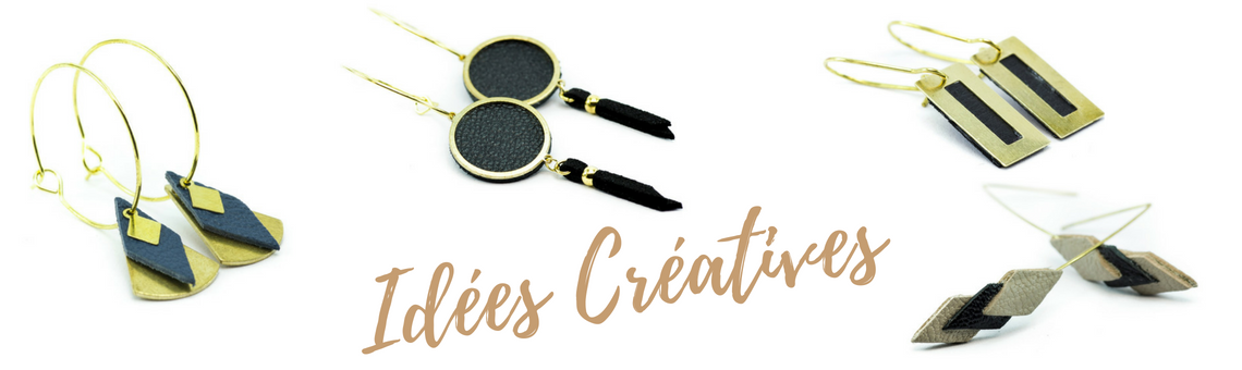 Idées Créatives Eventail de cuir